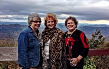 3 friends- blue ridge pkwy